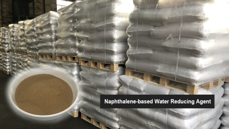 naphthalene based water reducing agent packing