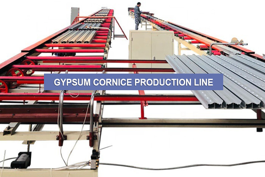 GYPSUM CORNICE PRODUCTION LINE