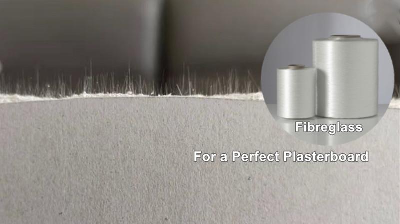fiberglass for a perfect plasterboard