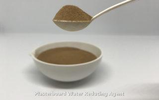 Plasterboard water reducing agent